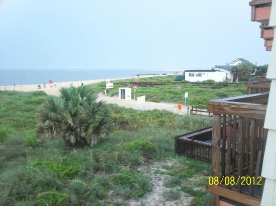 The Saint Augustine Beach House: Looking South from our balcony