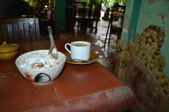 Shanti Lodge: Muesli is fantastic and the Coffee is strong.
