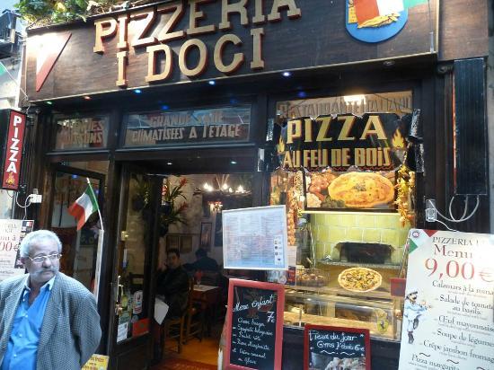 I Dogi restaurant, in the Latin Quarter of Paris