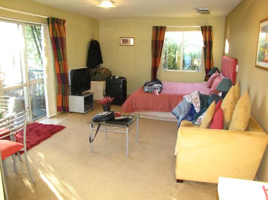 Tussock Peak Motor Lodge: A lovely room for winter
