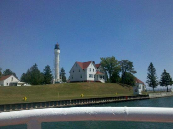 Stone Harbor Resort: View on boat ride
