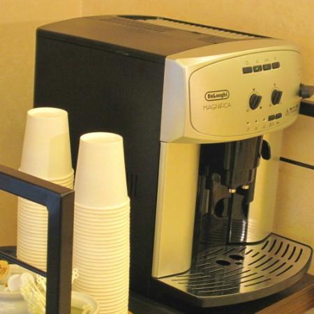 Hotel Green Line: ウエルカムコーヒーの無料サービス