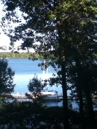 Cragun's Resort on Gull Lake : lake view from our deck