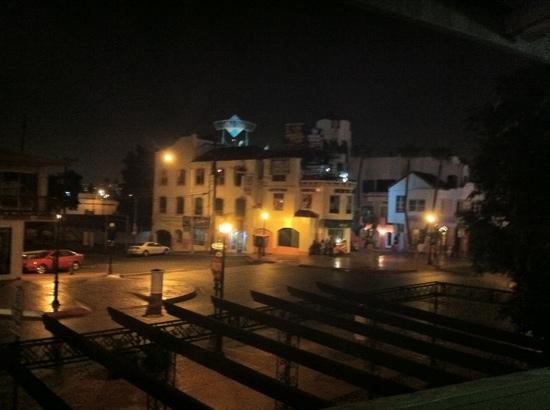 Hotel Calafia: esta es una vista desde el balcón de la habitación