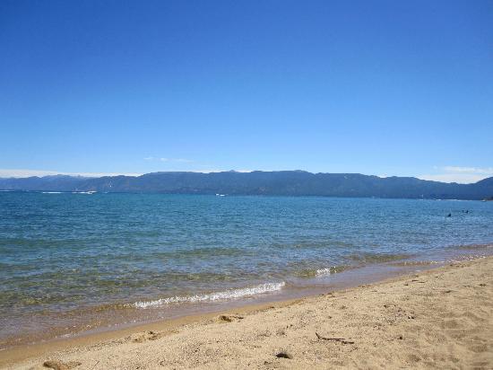 Pope Beach: View of water