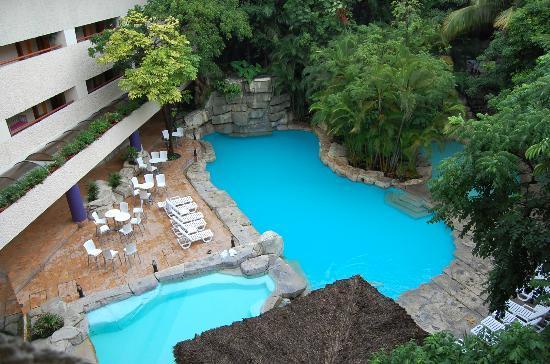 Marriott Tuxtla Gutierrez: piscina scoperta
