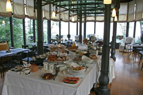 Hotel Villa Beccaris: Ontbijtbuffet