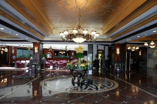 วินด์แฮม แกรนด์ รีเจนซี่ โดฮา: Hotel Lobby