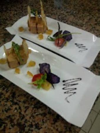 Hotel Restaurant Entre Nous: Foie Gras à la Vanille