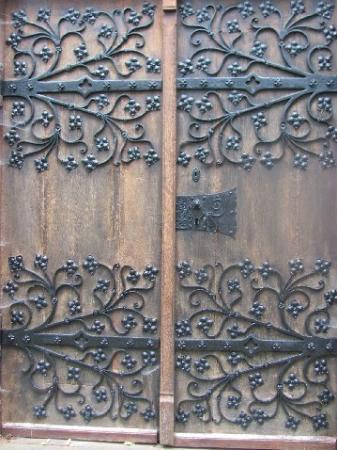 Hofgartenkapelle: door