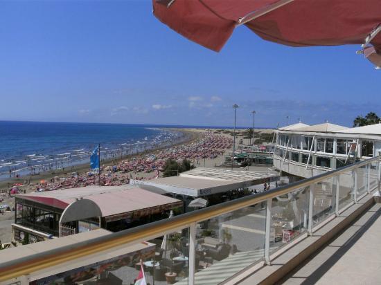 Atlantic Beach Club : Het uitzicht op het strand