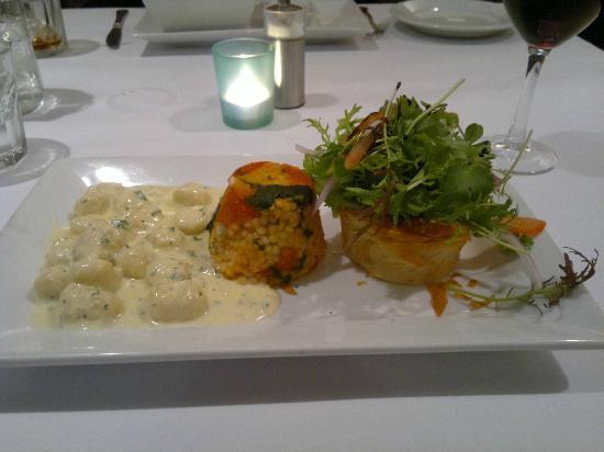 The White Star Albany : Vegetarian trio