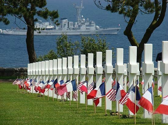 American D-day Tours: American Military Cemetery