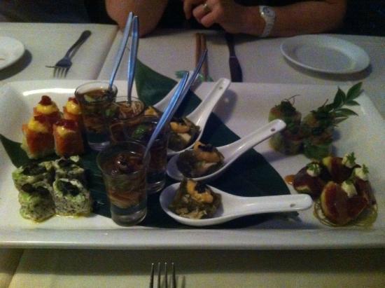Kenji: Entree Tasting Platter