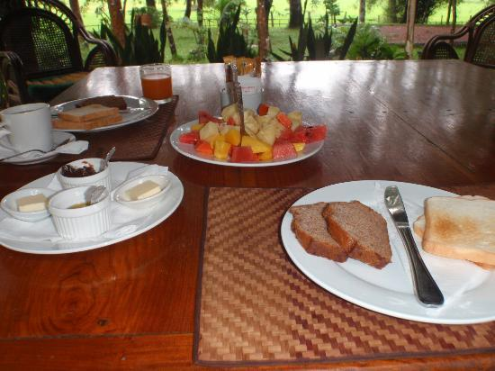 ‪‪Ban Sufa Garden Resort‬: Our breakfast‬
