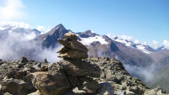 Hotel Post: Beloning van een stevige klim naar 3019m. Wildes Mannle