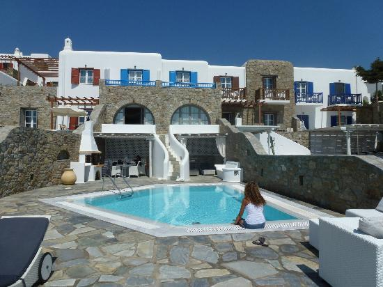 Mykonos Grand Hotel & Resort: La chambre
