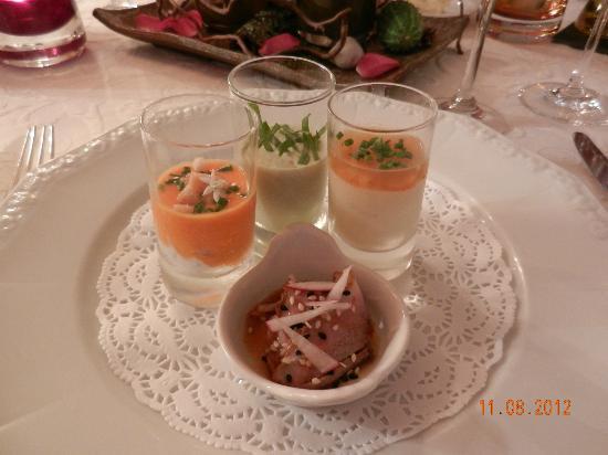 Restaurant Landhaus Muehlenberg: Amuse-Bouche