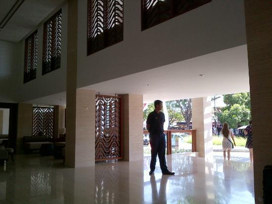 The Magani Hotel and Spa: From the inside lobby