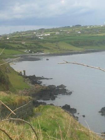 Blackhead Path: Blackhead Coastal Path looking over the Gobbins