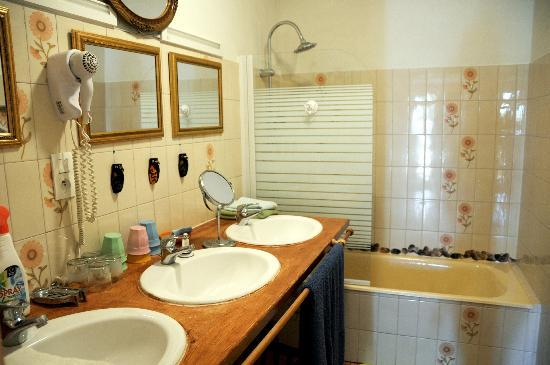 Bed and Breakfast Joliot Curie: salle bain rdc
