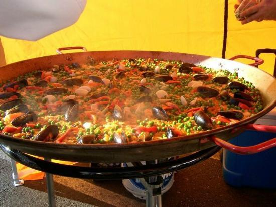 Del Rio's Cafe & Catering: Seafood Paella