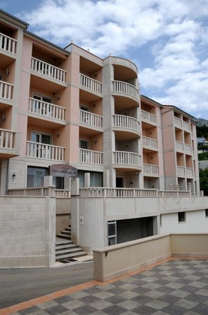 Außenansicht des Hotels Villa MiraMar