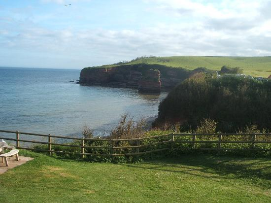 Ladram Bay Holiday Park: Views over the bay
