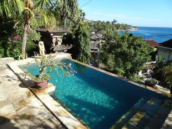 Bayu Cottages Hotel and Restaurant: the swimming pool