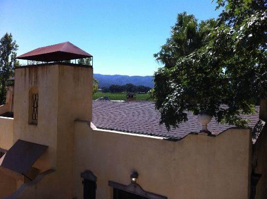 The Spa at Kenwood Inn: The view from Room 21