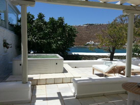 Nissaki Boutique Hotel: View from Executive Suite 513