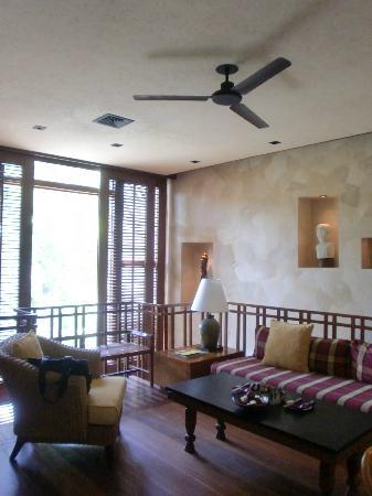 Four Seasons Resort Bali at Sayan: 部屋3(メゾネット2階部分)