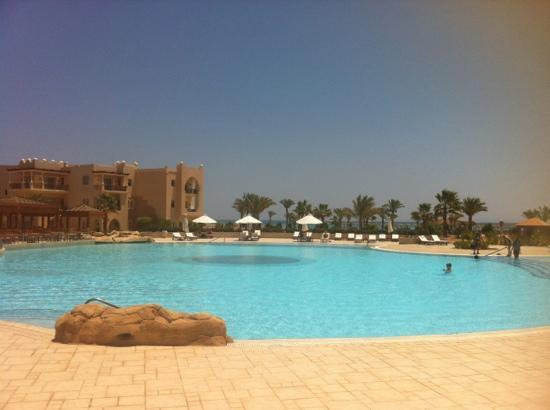 Kempinski Hotel Soma Bay : Swimming pool and aqua gym course
