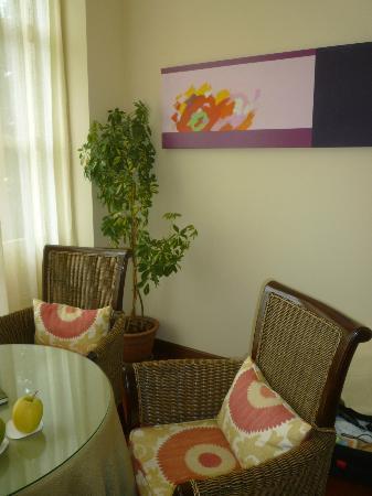 Casona de la Paca: Living room off bedroom