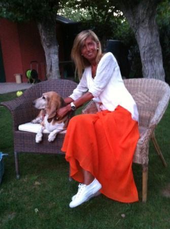 Villa Mirella Beach: io ed Eva