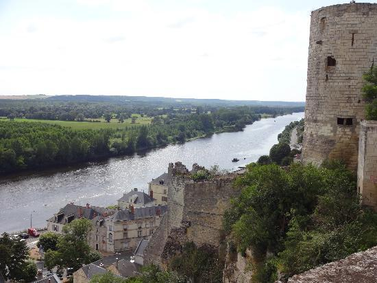 Le clos des Berengeries : The Loire form Chinon castle
