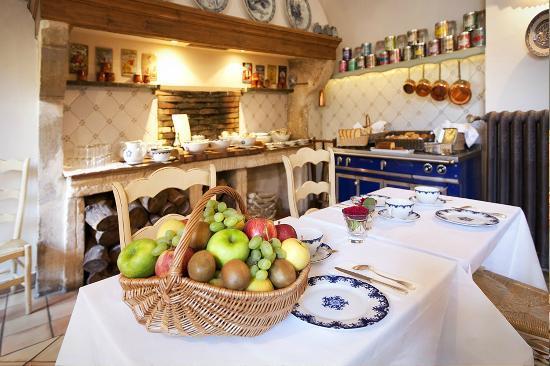 l\'ancienne cuisine voûtée pour petit déjeuner, mais aussi pour les ...