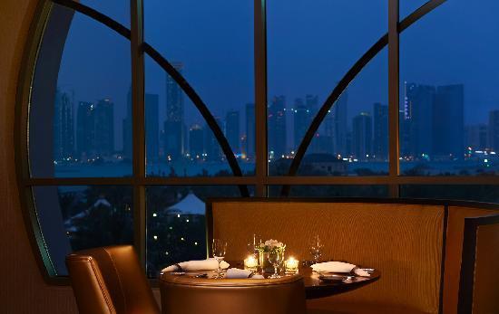 Vine Restaurant at Night