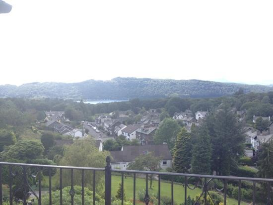 Hillthwaite: view from the balcony