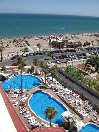 view from 6th floor picture of marconfort beach club hotel torremolinos tripadvisor. Black Bedroom Furniture Sets. Home Design Ideas