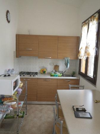 Agriturismo I Vigneti: cuisine des appartements
