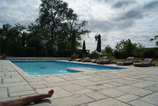 Le Manoir des Chanterelles : la piscine