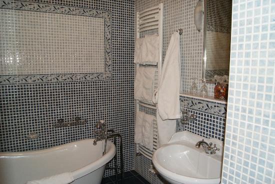 Le Manoir des Chanterelles : la salle de bains