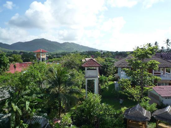 Baan Oui: uitzicht kamer
