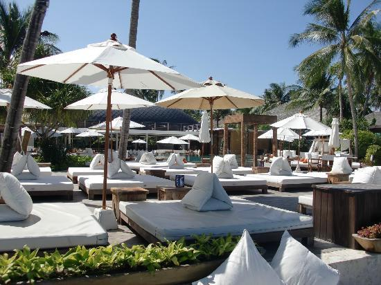 Nikki Beach Resort Koh Samui : Beautiful seating areas