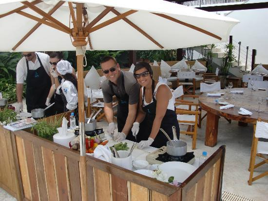 Nikki Beach Resort & Spa: Our thai cooking class - excellent
