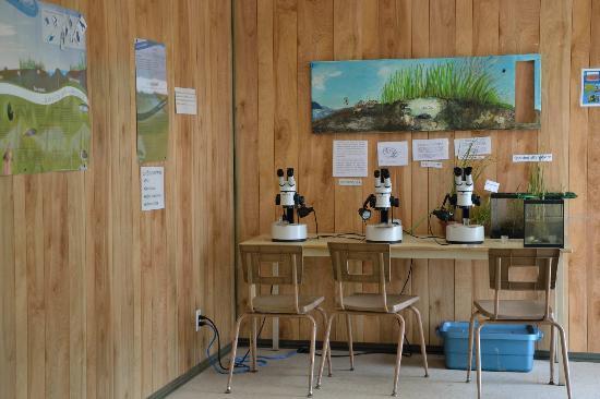 La Pocatiere, Kanada: Le petit labo d'écologie