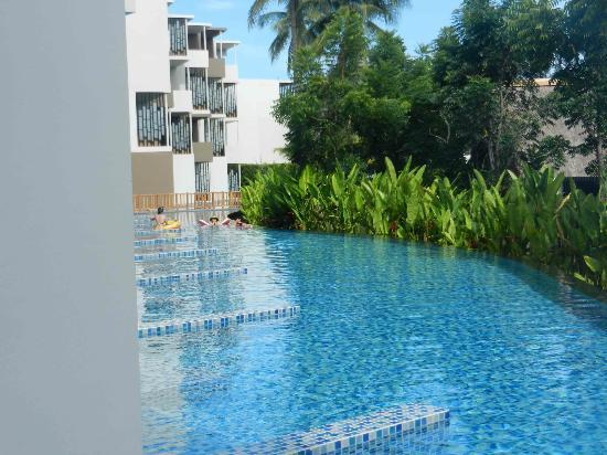 Holiday Inn Phuket Mai Khao Beach Resort: View from room with pool access 