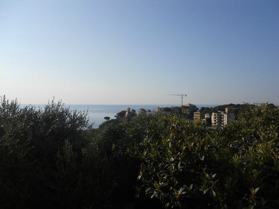 Celle Ligure, Italy: La vista dalla camera dove ho soggiornato