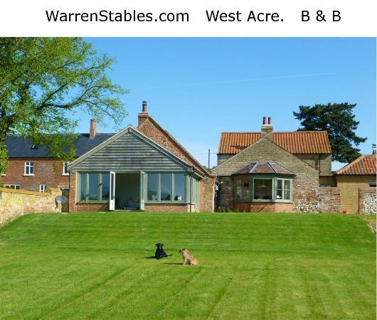Warren Stables B&B : Warren Stables, a modern (2012) Stable and Barn Conversion
